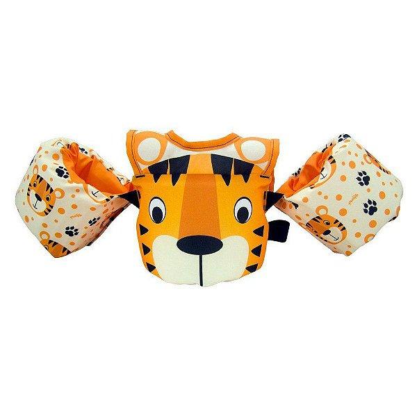 Colete Infantil Tigre Peitoral Homologado 0-25k