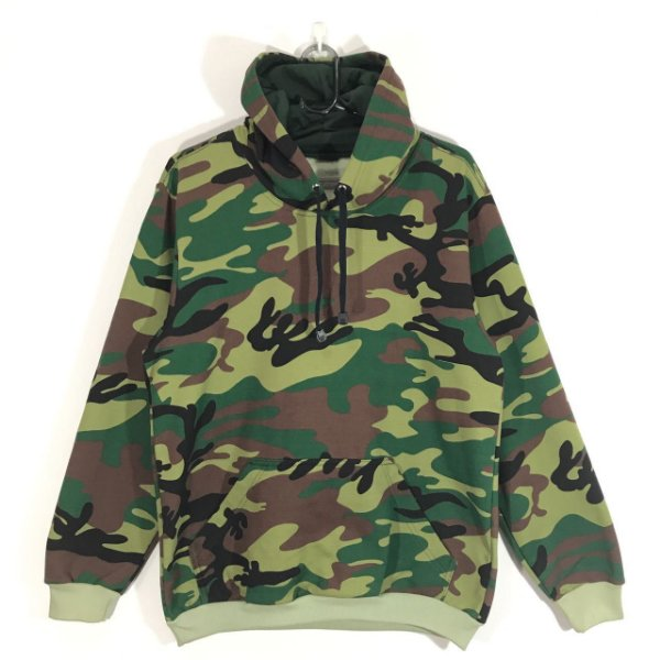 Moletom Canguru Camuflado / Sheik Supply Co / Green Camo