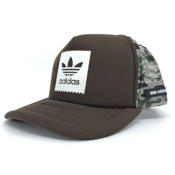 Boné / Adidas / Stripes Brown Camo
