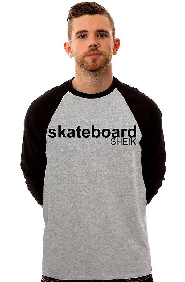Camiseta Raglan 3/4 / Sheik Supply Co / Script