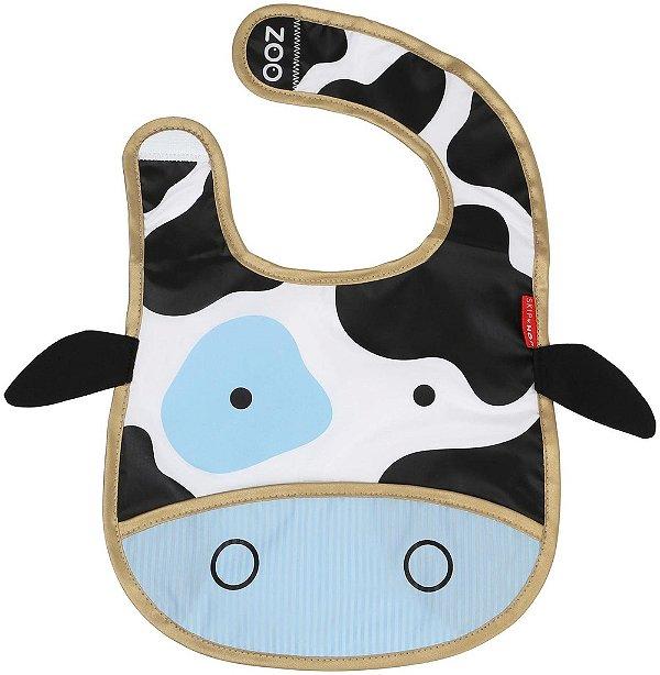 Babador Impermeável, Skip Hop Zoo, tema Vaca