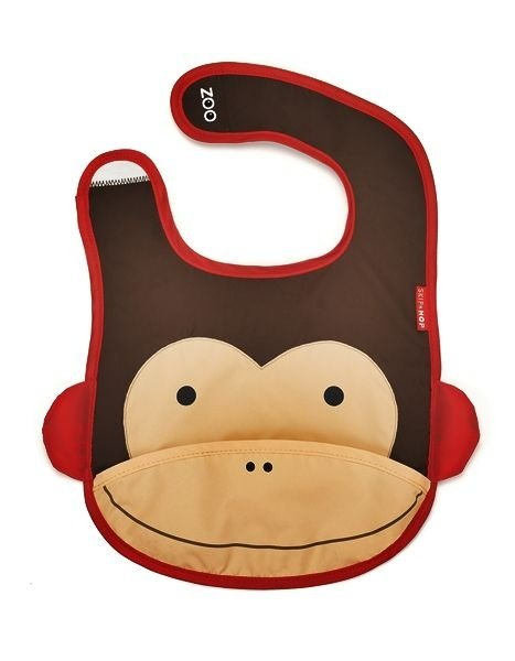Babador Impermeável, Skip Hop Zoo, tema Macaco