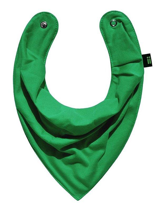 Babador Bandana, Verde Primavera, da Gumii, tamanho único