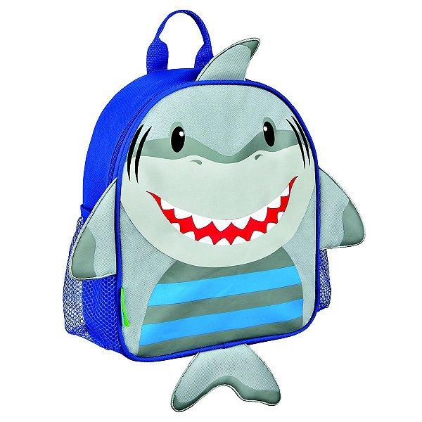 Mochila de costas, infantil, Stephen Joseph, tema Tubarão