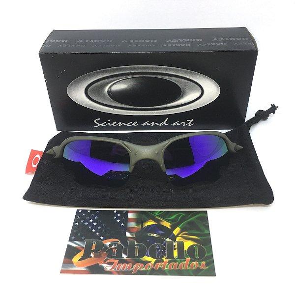 d339f90a5 Óculos Oakley Romeu 2 X-Metal - Flame Violet - Rabello Store