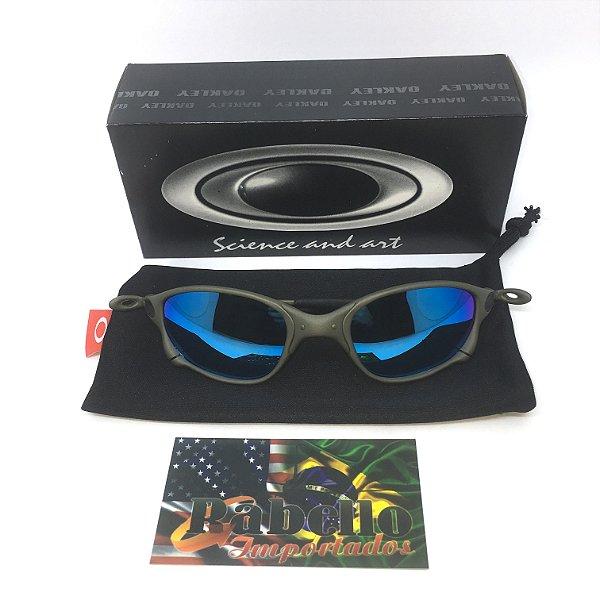 be3dcbb48 Óculos Oakley Double X-Metal - Ice Thug - Rabello Store