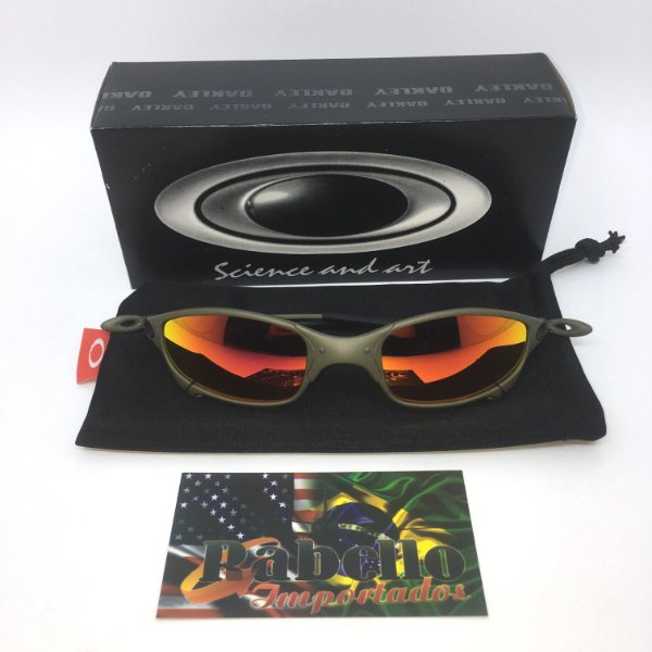 Óculos Oakley Juliet X-Metal - Ruby Iridium