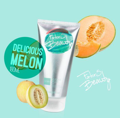 Loção Hidratante Delicious Melon 180ml  Referência olfativa de  Melão