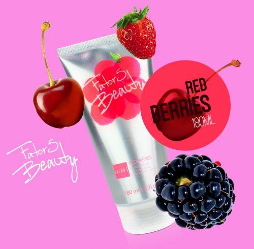 Loção Hidratante Red Berries 180ml Referência olfativa de Frutas Vermelhas
