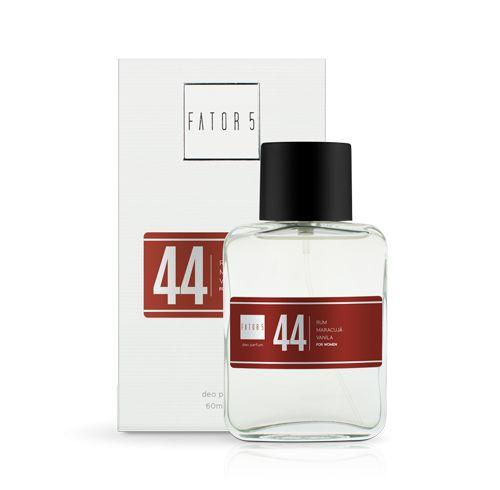 Perfume 44 - Run, Maracujá e Vanila 60 ml Referência olfativa de 212 VIP Woman