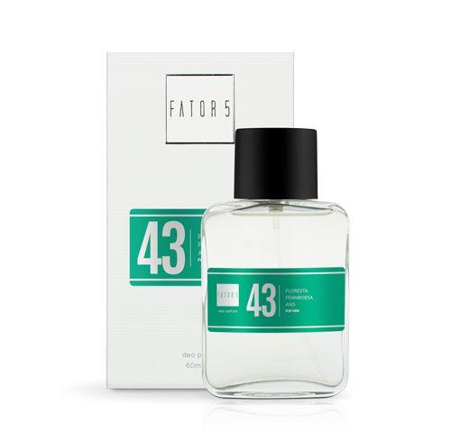Perfume 43 - Floresta, Framboesa e Anis 60 ml Referência olfativa de Diesel Fuel For Life