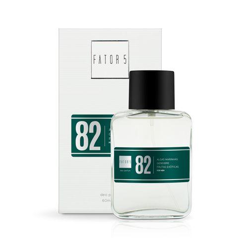 Perfume 82 - Algas Marinhas, Gengibre e Frutas Exóticas 60 ml Referência olfativa de Polo Sport