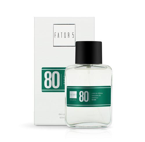 Perfume 80 - Lima da Pérsia, Manjericão e Sândalo  Referência olfativa de  Armani