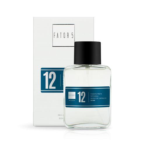 Perfume 12 - Pimenta Preta, Patchuli e Musgo de Carvalho 60 ml Referência olfativa de Azzaro