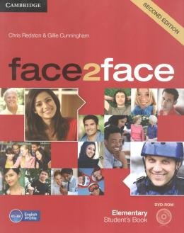Face2face Elementary - Students Book With Dvd-Rom - 2nd Ed