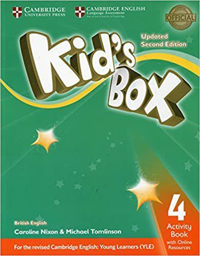 Kids Box 4 AB W Online Resources Up 2ed