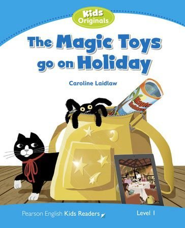 The Magic Toys Go On Holiday - Coleção: Pearson English Kids Readers