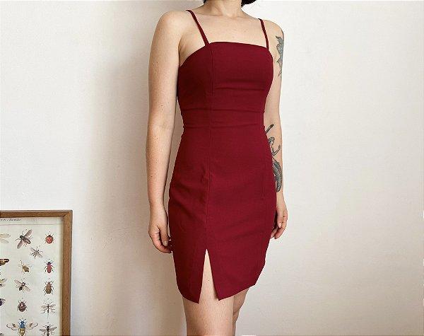 Vestido Clássico Vermelho