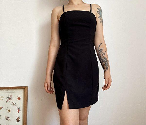 Vestido Clássico Preto