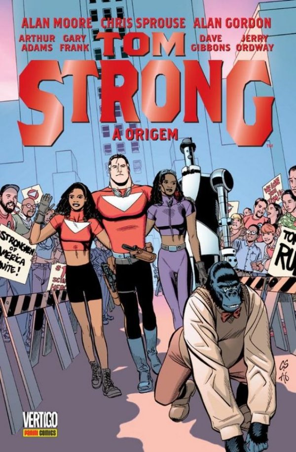 TOM STRONG: A ORIGEM