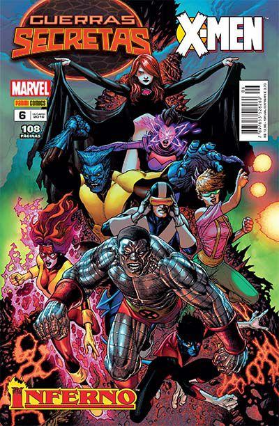 GUERRAS SECRETAS: X-MEN - ED. 6