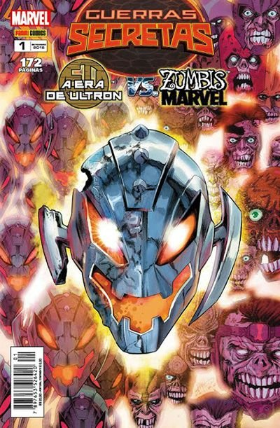 GUERRAS SECRETAS: A ERA DE ULTRON VS. ZUMBIS MARVEL - ED. 1