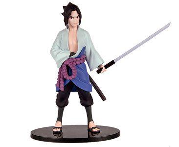 Naruto Shippuden Figuras de Coleção - ed.02 I Sasuke