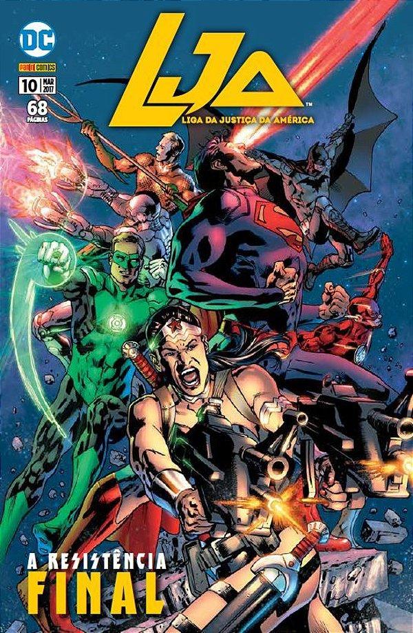 LJA: Liga da Justiça Americana - Edição 10  A Resistência Final
