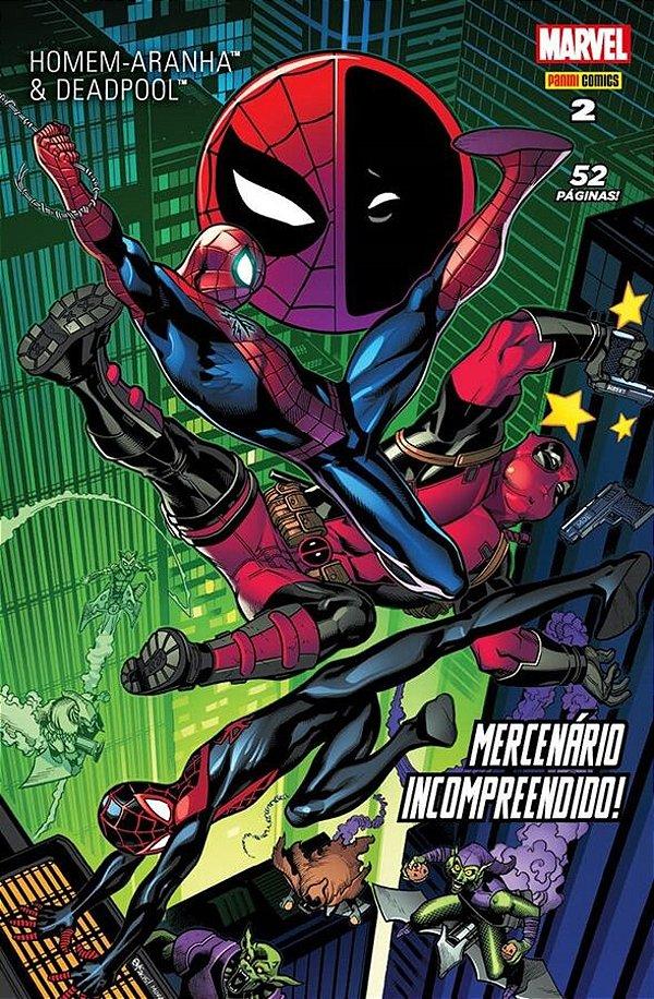 Homem Aranha e Deadpool 2 - Mercenário incompreendido!