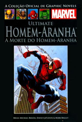 ULTIMATE HOMEM ARANHA -  A MORTE DO HOMEM ARANHA
