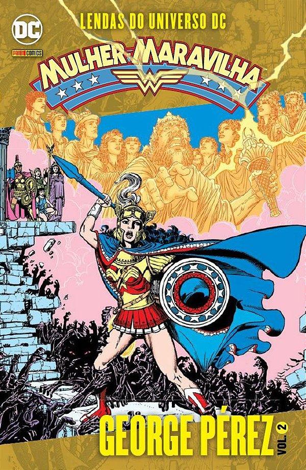 Mulher Maravilha: Lendas do Universo DC Vol. 02