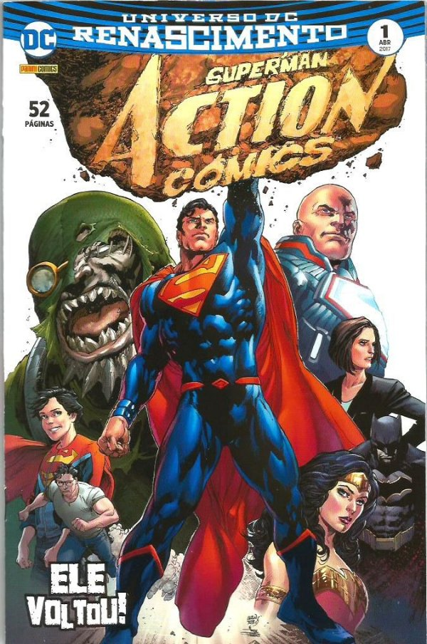 Universo DC Renascimento I Superman Action Comics -1