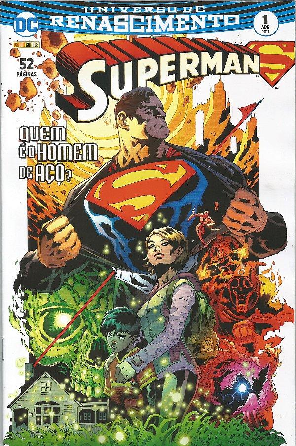 Universo DC Renascimento - Superman - 1
