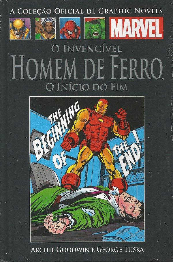 O invencível Homem de Ferro o inicio do fim