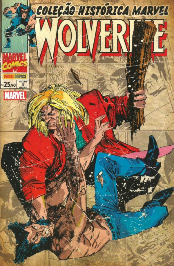 Wolverine - Coleção histórica Marvel