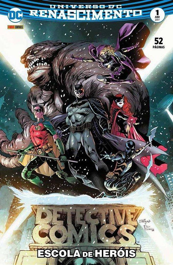 Universo DC Renascimento - Batman detective comics - 1 I Escola de heróis
