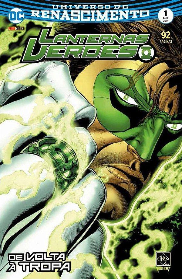 Universo DC Renascimento - Lanterna Verde - 1 I De volta 1 à tropa