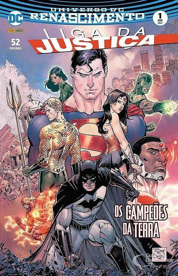 Universo DC Renascimento - Liga da justiça - 1 I Os campeões da terra