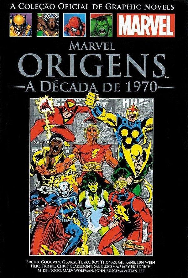 MARVEL ORIGENS - A DÉCADA DE 1970