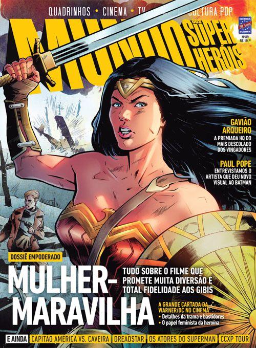 Revista Mundo dos Super-Heróis - Edição 89