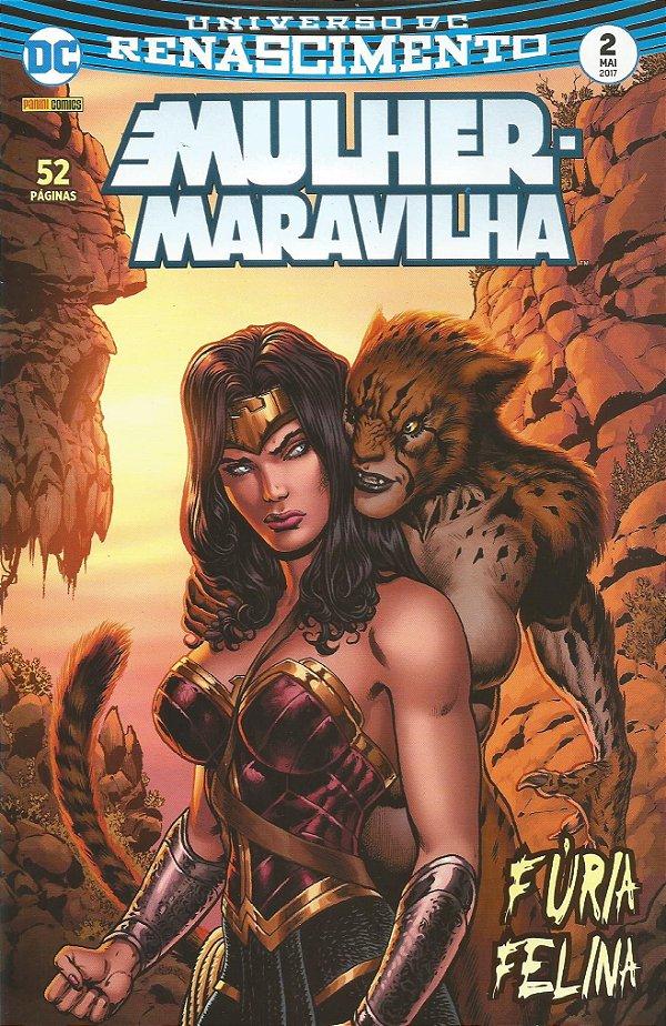 UNIVERSO DC RENASCIMENTO: MULHER MARAVILHA - 2