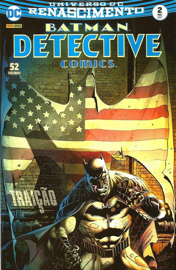 UNIVERSO DC RENASCIMENTO: BATMAN DETECTIVE COMICS - 2