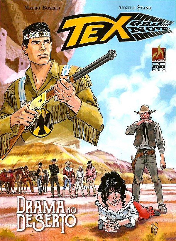 TEX - DRAMA NO DESERTO
