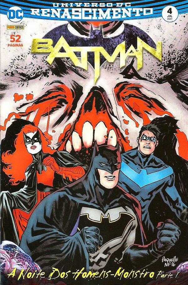 UNIVERSO DC RENASCIMENTO: BATMAN - 4