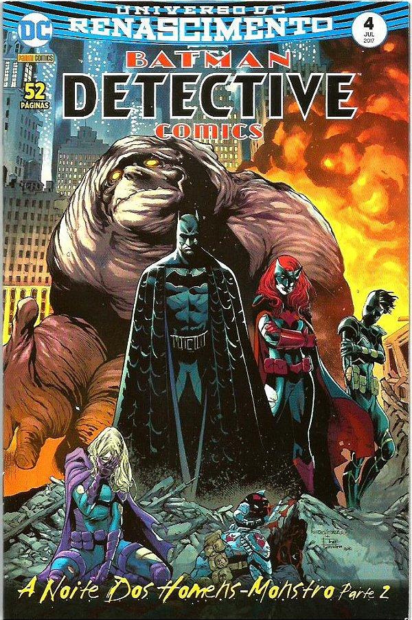 UNIVERSO DC RENASCIMENTO: BATMAN  DETECTIVE COMICS - 4