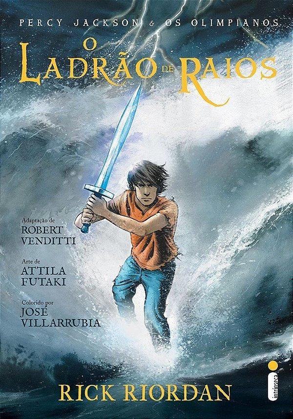 O Ladrão de Raios - Col. Percy Jackson e Os Olimpianos - Graphic Novel [Português] [Capa comum] Rick Riordan