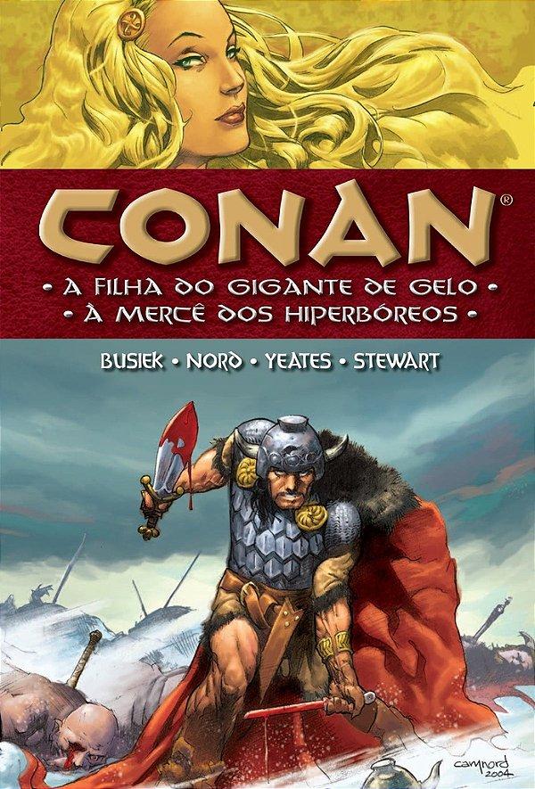Conan a filha do gigante de Gelo [CAPA DURA]