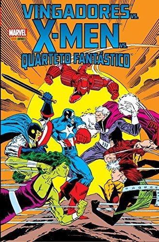 Vingadores vs X-men vs Quarteto Fantástico    - [Capa comum]
