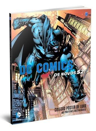 DC COMICS OS NOVOS 52 COLEÇÃO PÔSTER DE LUXO
