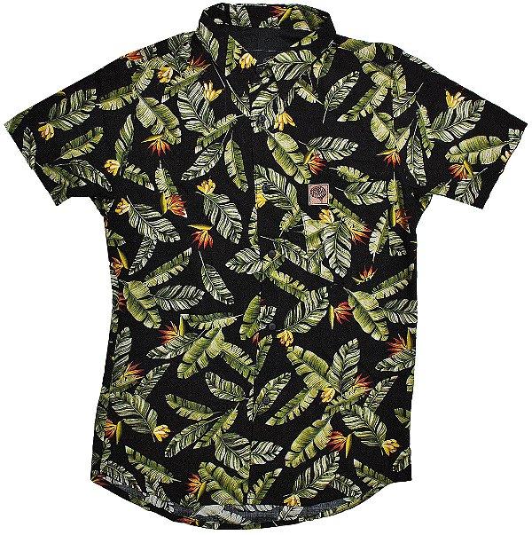Camisa Folhas de Bananeira